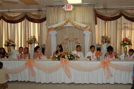 Reception Hall Decoration Ideas Fiesta Banquet Hall Quinceanera