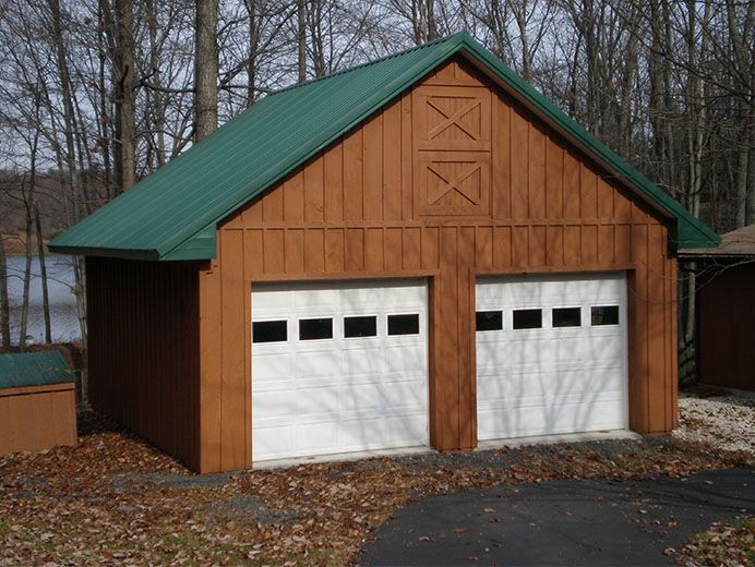 24 W X 32 L X 10 H Id 072 Total Cost Contact Us Residential Building Pole Buildings Siding Colors