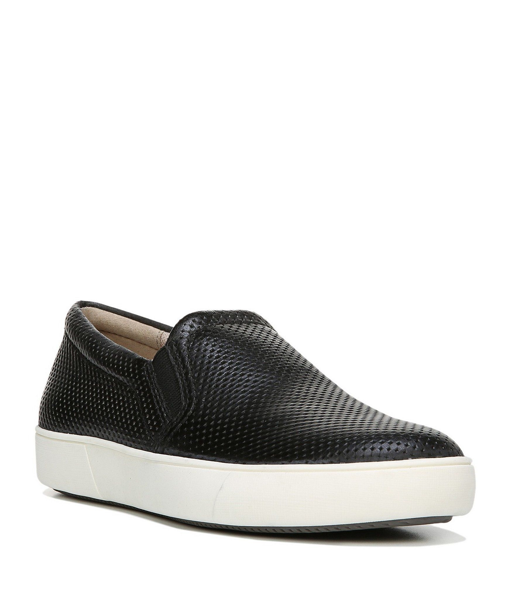 877b4883f21 Naturalizer Marianne Perforated Leather Sneakers  Dillards