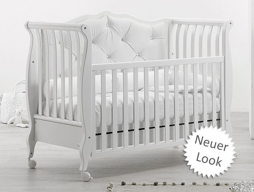 NEU Babybett Rinascimento Chester (Umbaubar zum Sofa