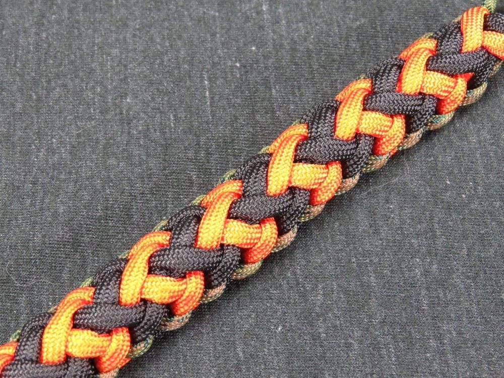how to make 550 paracord bracelet