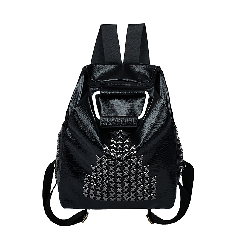 31.67$  Watch now - https://alitems.com/g/1e8d114494b01f4c715516525dc3e8/?i=5&ulp=https%3A%2F%2Fwww.aliexpress.com%2Fitem%2FSummer-New-Backpack-for-Women-Retro-Rock-Punk-Hip-hop-Style-Backpack-Rivet-Washable-Leather-Women%2F32682715557.html - Summer New Backpack for Women Retro Rock Punk Hip-hop Style Backpack Rivet Washable Leather Women Shoulder Bags Travel Bags 1652 31.67$