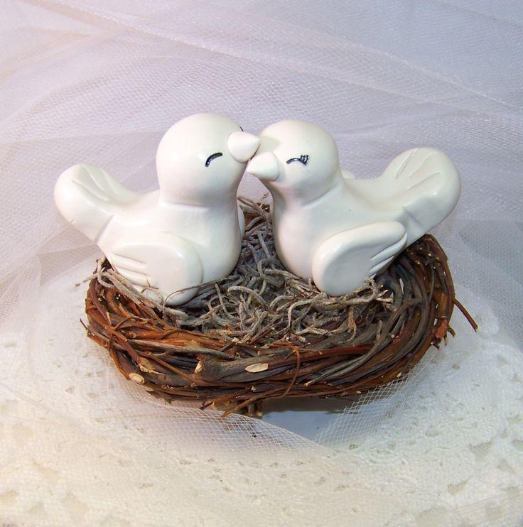 Love Bird Wedding Decorations Romantic Love Bird Wedding Cake