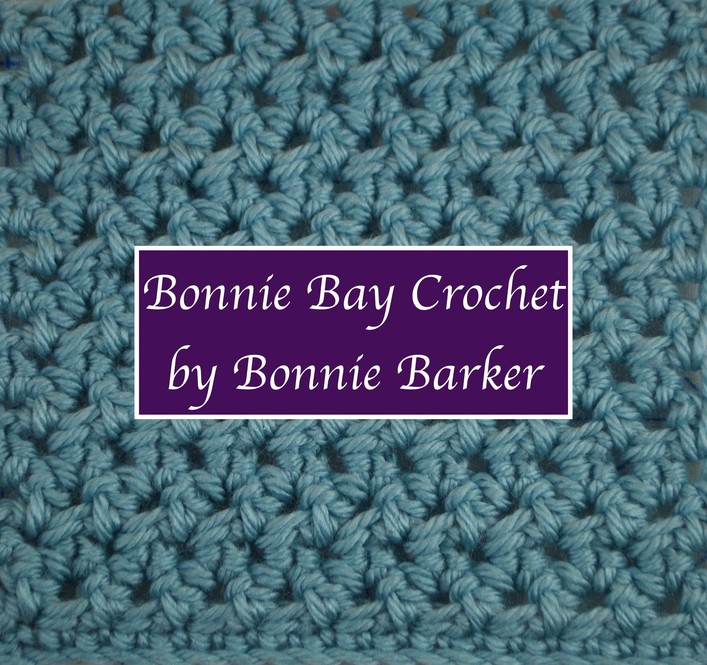 Bonnie Barker demonstrates how to crochet using the Woven Stitch ...