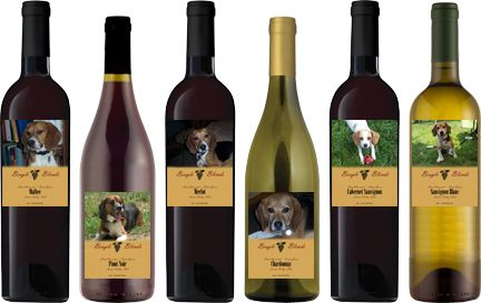 wine to benefit beagle rescue league ) Animal rescue