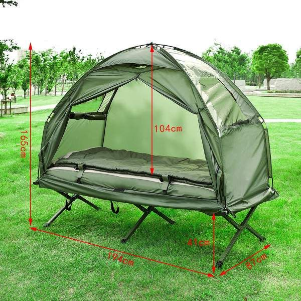 Haotian Compact Collapsible Portable C&ing Cot Tent The Haotian Compact Collapsible Portable C&ing Cot Tent is & Haotian Compact Collapsible Portable Camping Cot Tent The Haotian ...