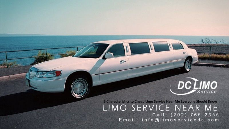 3 Characteristics To Cheap Limo Service Near Me Everyone Should Know Limo Service Characteristics