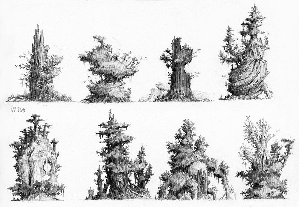 Les Croods - Nicolas Weis, visual development artist | Les croods, Faune et flore, Illustration