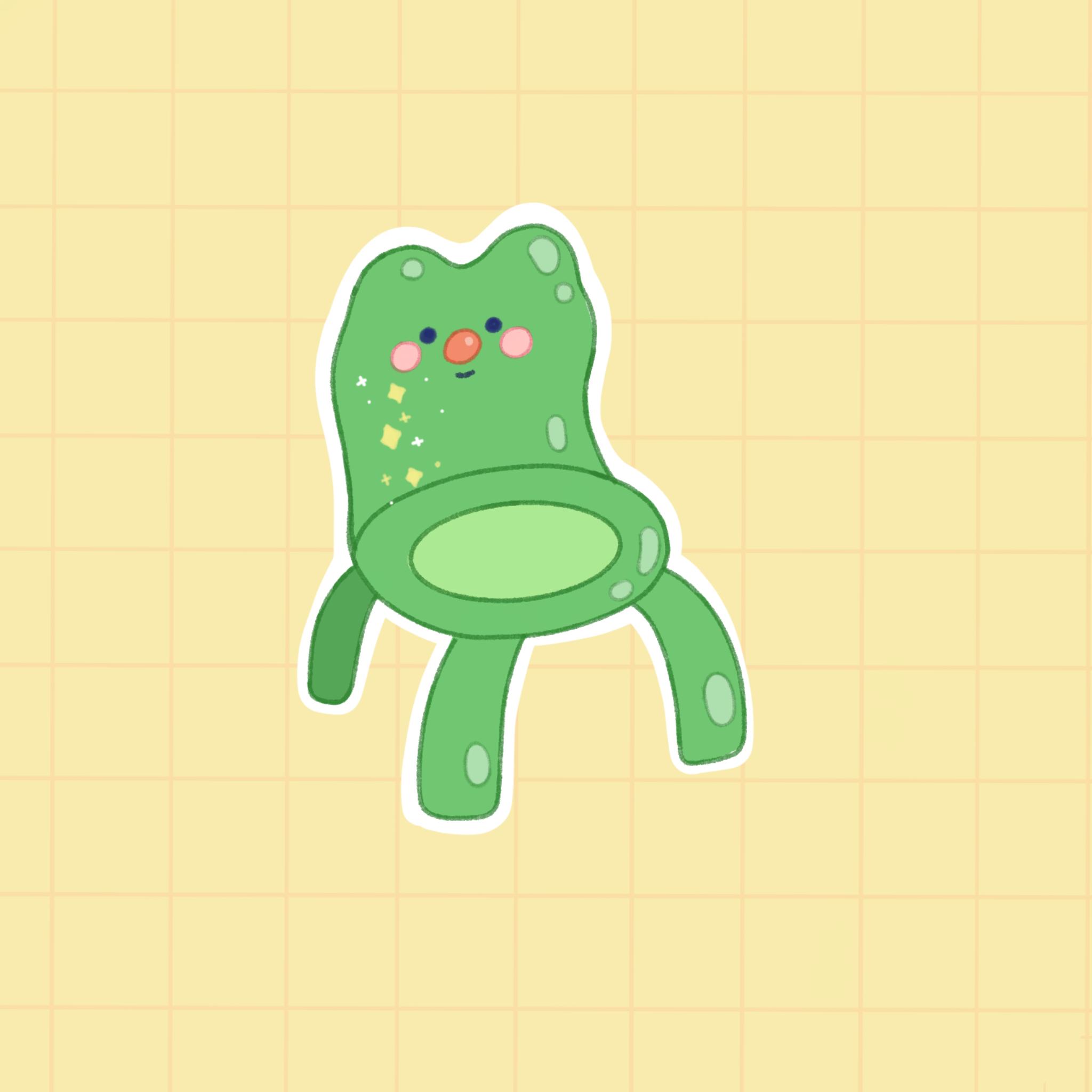 froggy chair 🐸 in 2020 Animal crossing, Elli, Animals