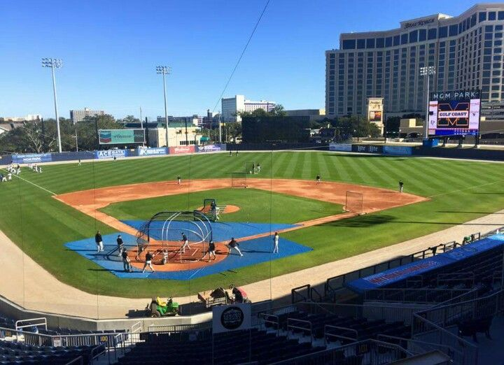 Mgm Park Biloxi Ms Biloxi Minor League Baseball Baseball Field