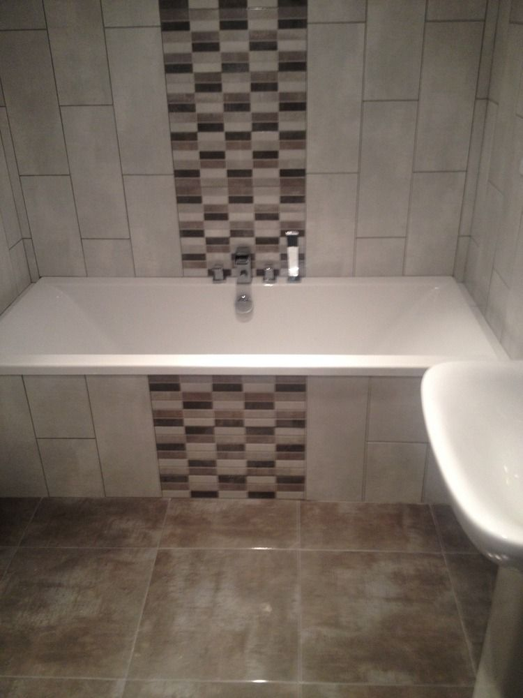 Bathroom Tiles Over Tiles : Mosaic tiles on bath panel google search home ideas