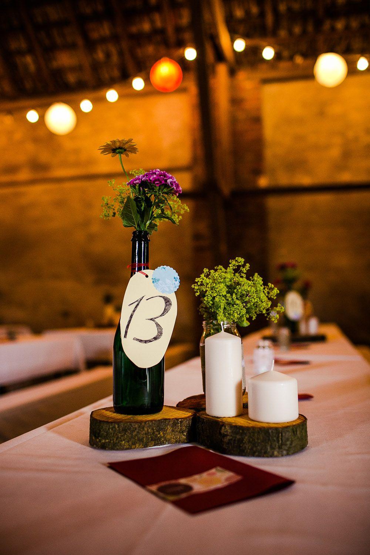 Hochzeit Diy Centerpieces Tischdeko Gunstig Selbermachen