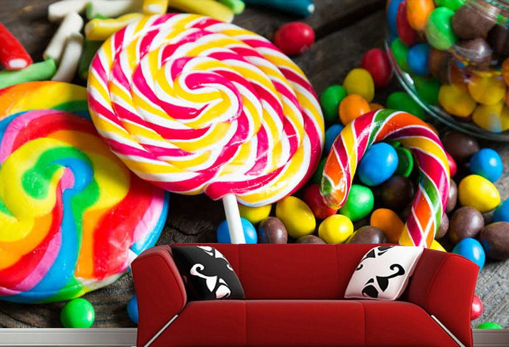 Colorful Wallpaper Lollipop Candy Cane Other Candies Wallpaper Colorful Wallpaper Wallpaper Lollipop