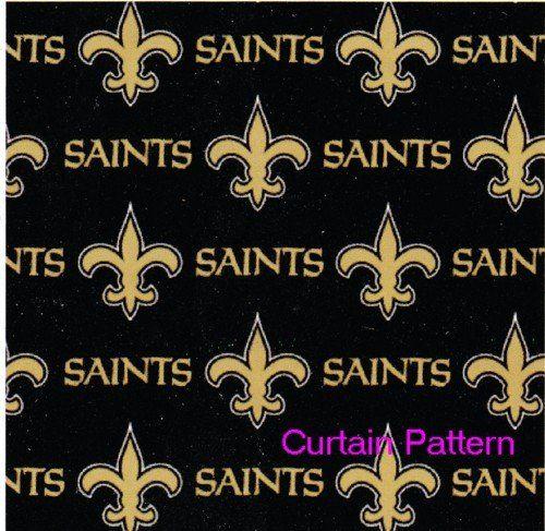 Save 12 New Orleans Saints Nfl Fabric Shower Curtain 72 X72