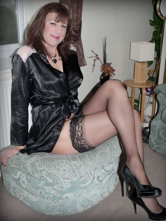 Fuckin crossdressers pantyhose legs fucking