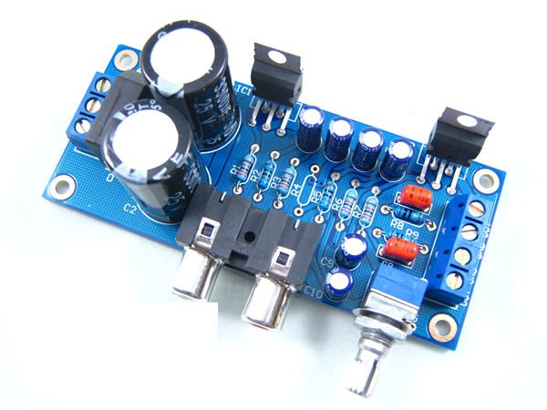 18W TDA2030A Hi-Fi Stereo Audio Amplifier Kit | Projects to
