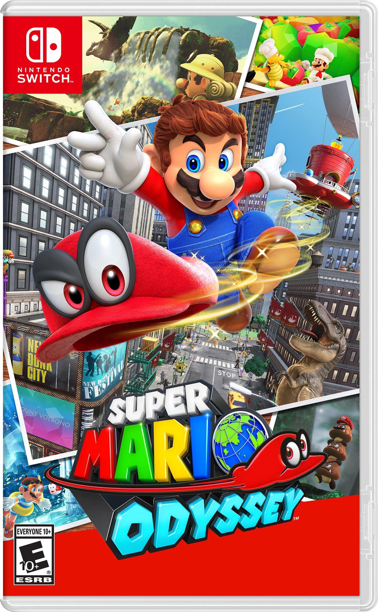 Super Mario Odyssey Nintendo Switch Oddysey Mario Party Riley