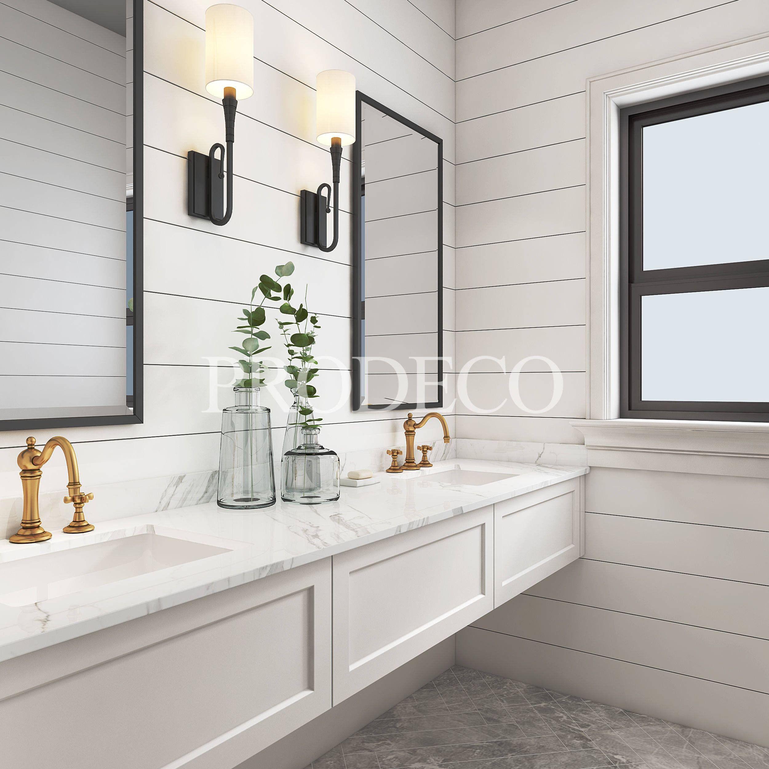 Best Shaker Style Bathroom Vanity Bathroom Styling Black 400 x 300