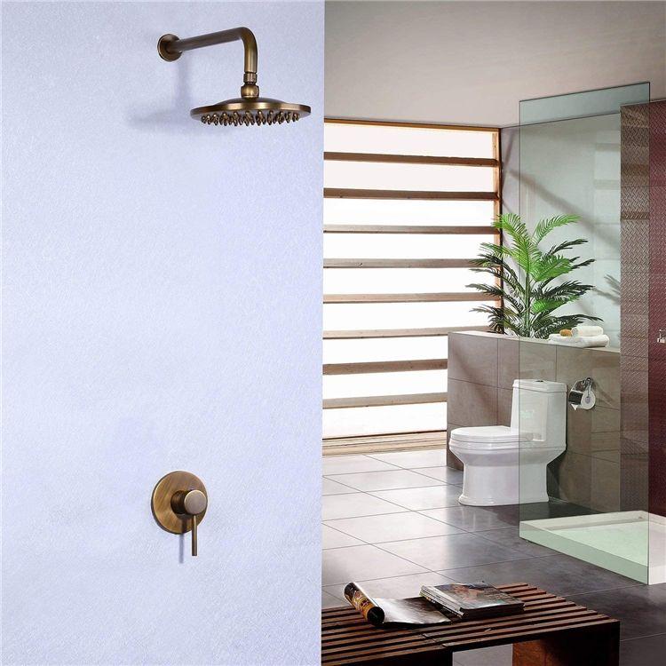 埋込形シャワー水栓 ヘッドシャワー バス水栓 レインシャワーヘッド