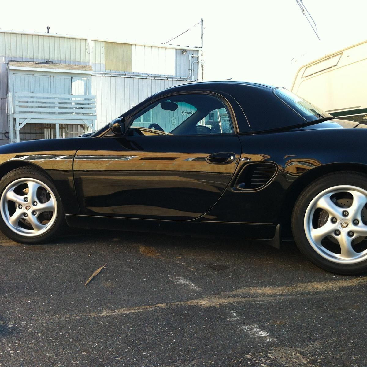 Black Boxster Hardtop Boxster Porsche Porsche Boxster