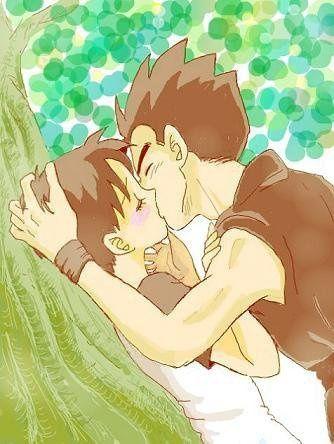 Dragon ball z gohan and videl kiss