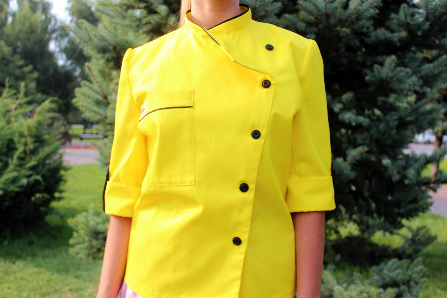 Chef Jacket Chef Coat Personalized Embroidered Monogram