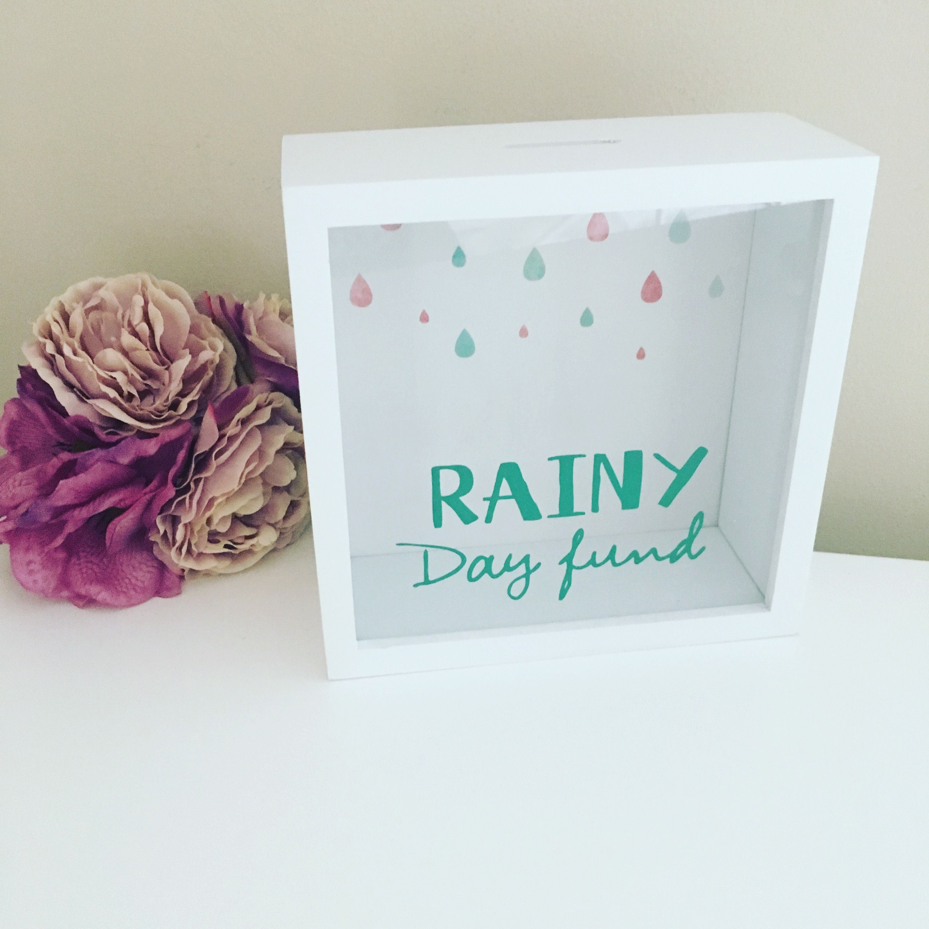 Rainy Day fund Money Box   Cool shit   Pinterest   Money box, Box ...