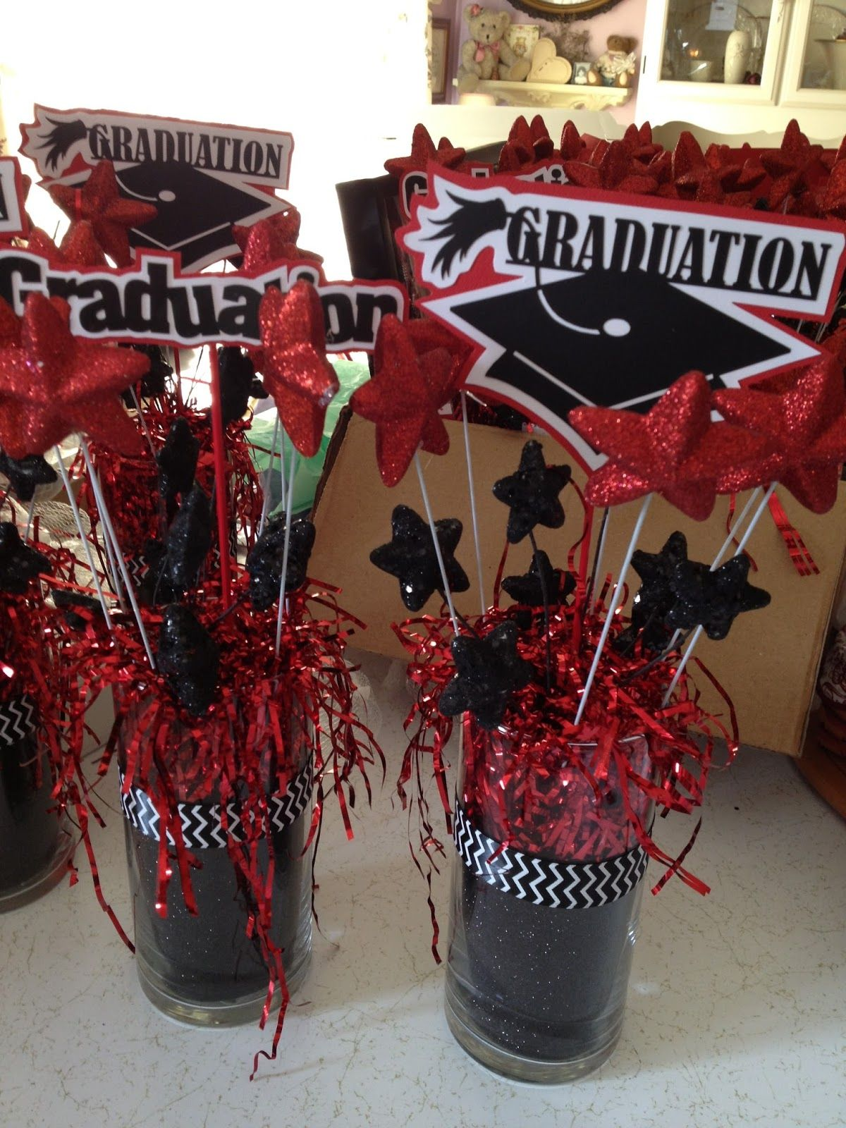 Graduation table decorations homemade - Graduation Centerpiece Ideas To Make Google Search