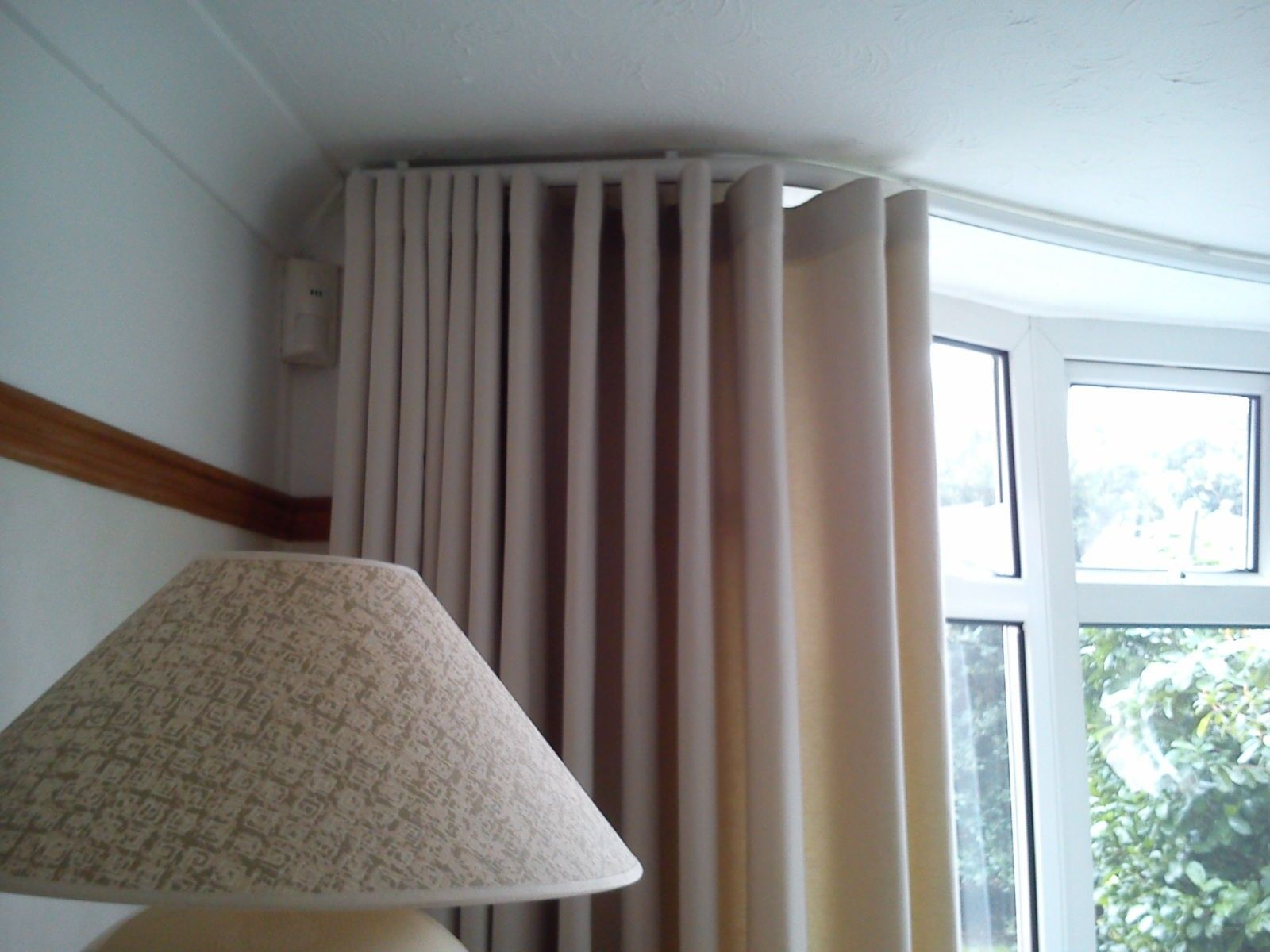 New Curved Ceiling Mounted Curtain Track Sitting Room Decor
