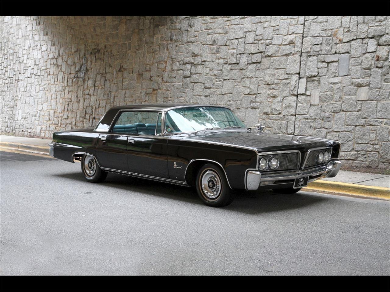 1964 Imperial Crown sedan in black | Imperials | Pinterest ...