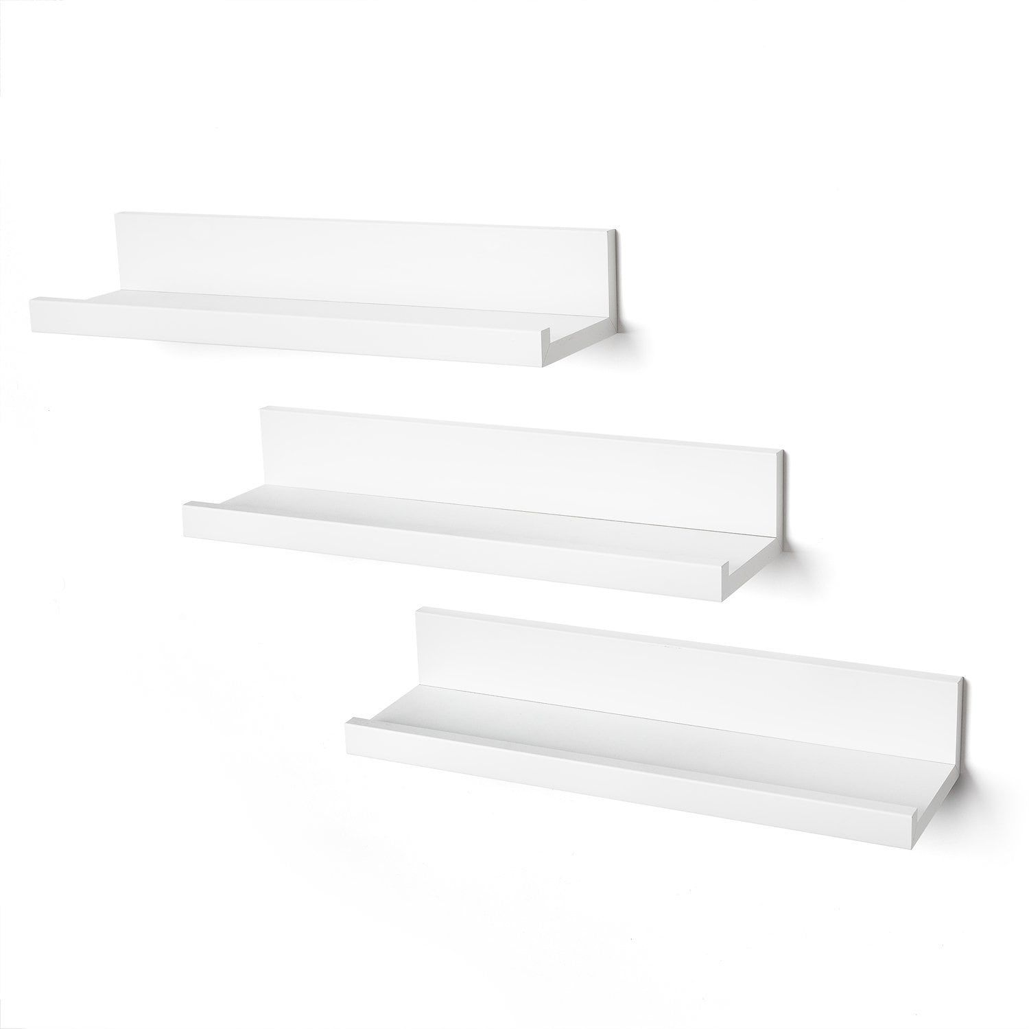 Overstock Com Online Shopping Bedding Furniture Electronics Jewelry Clothing More In 2020 Floating Wall Shelves Floating Wall Shelves White Wall Shelves