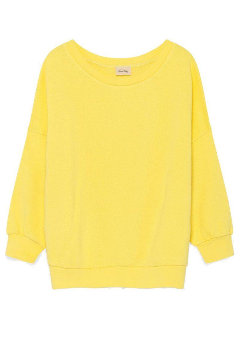 American Vintage Kinibay Sweater Lemonade American Vintage Sweaters Stylish Sweaters