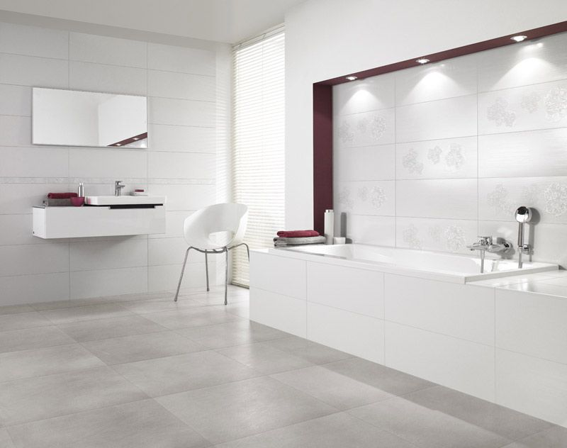Wandfliesen Bad Weiß Deutsche Fliese / Villeroy & Boch Fliesen | Bathroom In