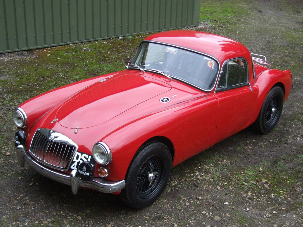 eBay 1960 MG MGA COUPE 'Historic Rally Car' Cool old