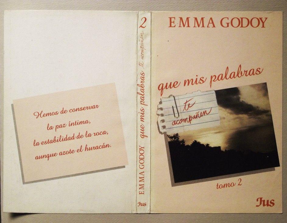 diseo de portada del libro que mis palabras te acompaen de emma godoy diseo alejandra