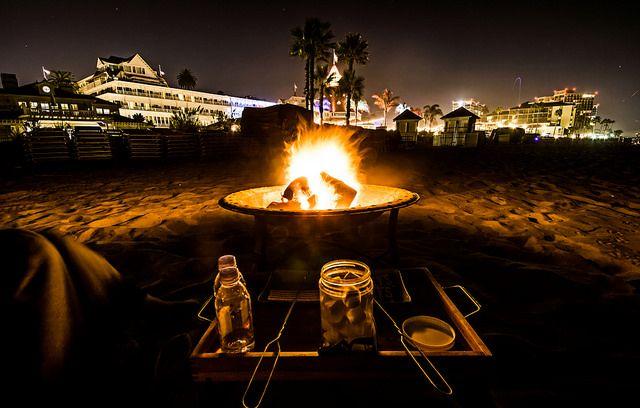 Afiresmore2raw Fire Pit Hotel Del Coronado Rectangular Fire Pit