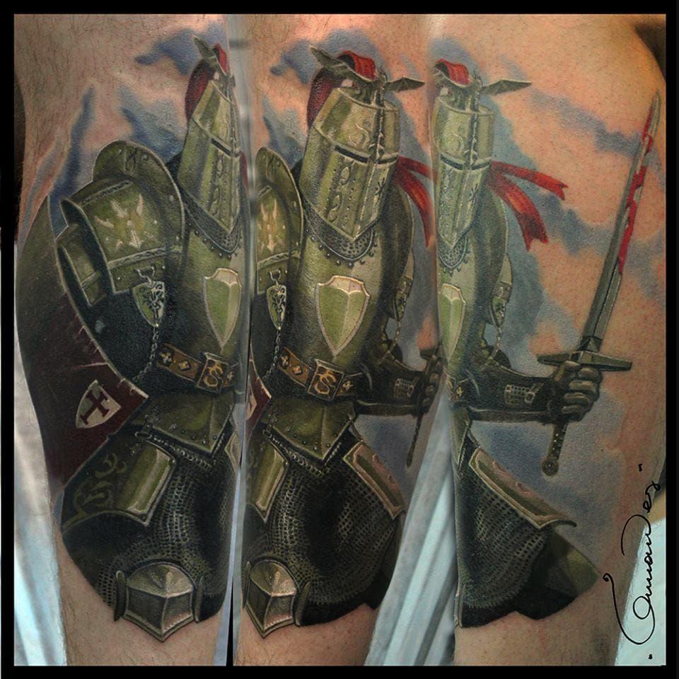 20 epic knight tattoos knight tattoo tattoo designs men