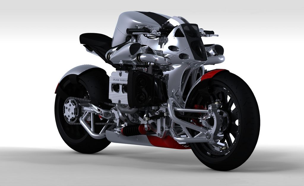 Suppose you had an engine from a Subaru WRX and suppose further, you wanted to build a motorcycle, what would it look like? Ian McElroy was thinking about just that and started putting his ideas in…
