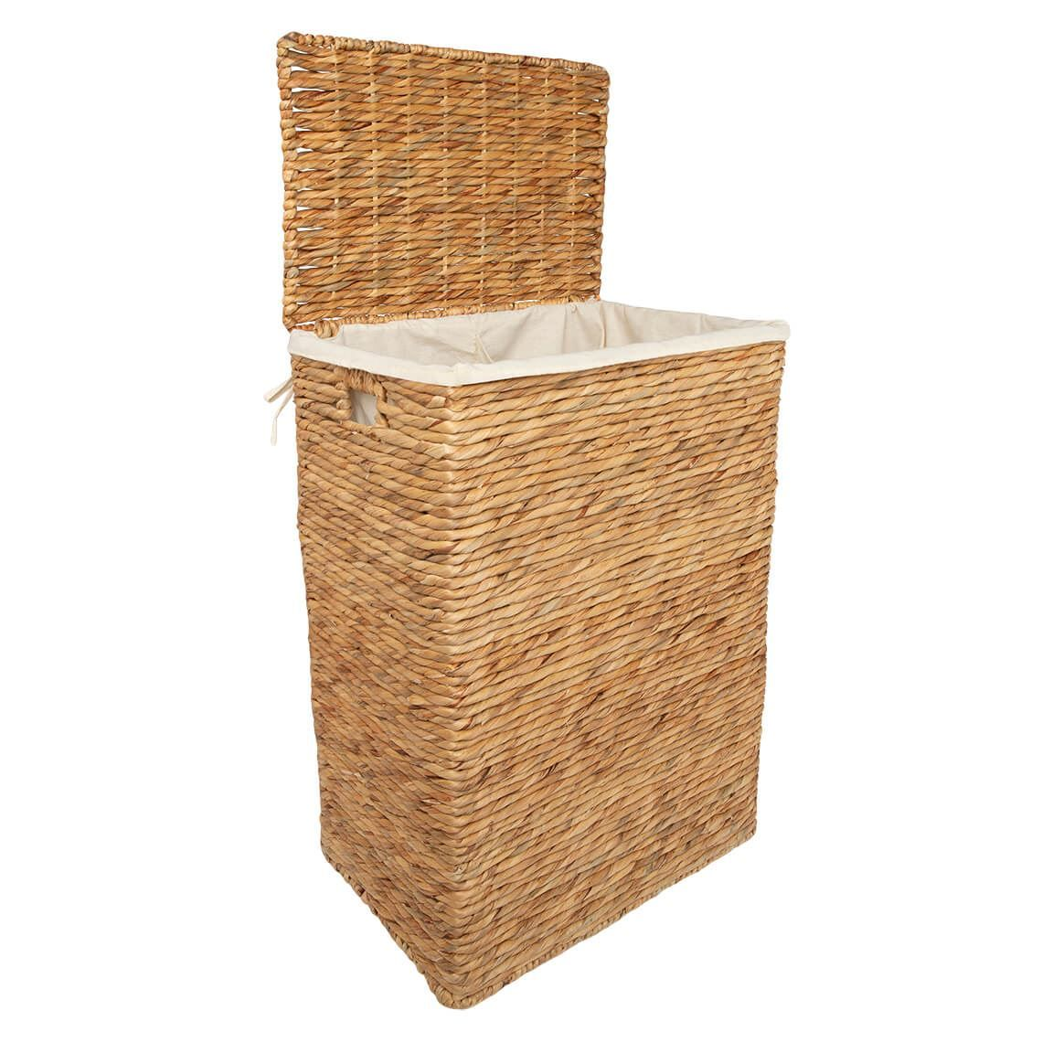 Xandra Hamper Natural In 2020 Hamper Bathroom Accessories Contemporary Furniture