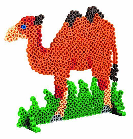 Hama Stiftplatte Dino weiß