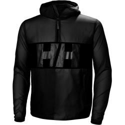 Helly Hansen Mens Active Windbreaker Anorak Rain Winterjacke Black Xl #winterbackground