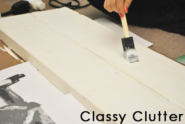 DIY Rustic Airplane Valance {Pottery Barn Knock Off) - Classy Clutter