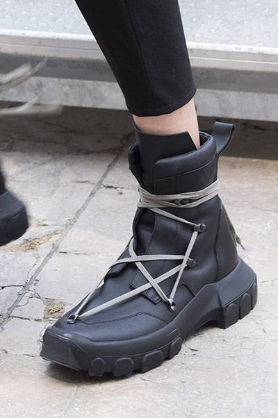 Rick Owens Men Shoes Spring 2018 Rick owens, Spring and Ankle boots