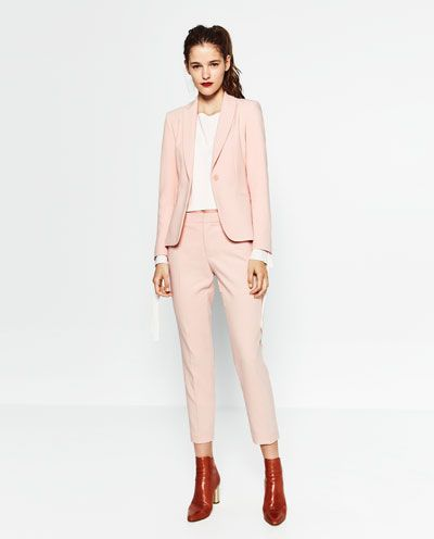 Trajes de chaqueta de mujer en zara