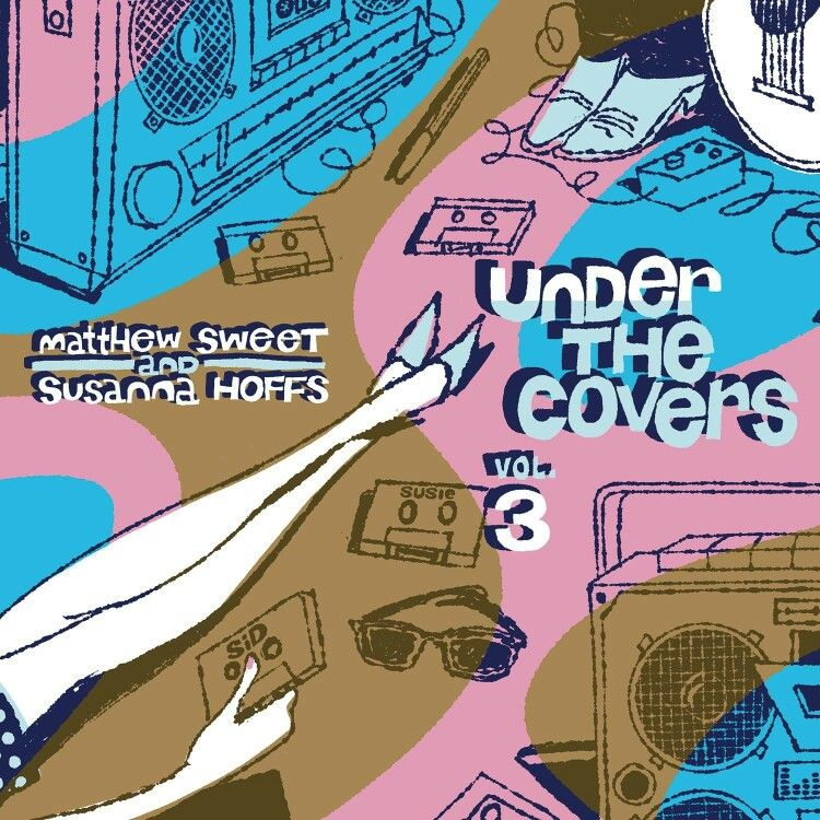 """Cover Album """"Under The Covers vol. 3"""" 2013 Sid 'N' Susie"""
