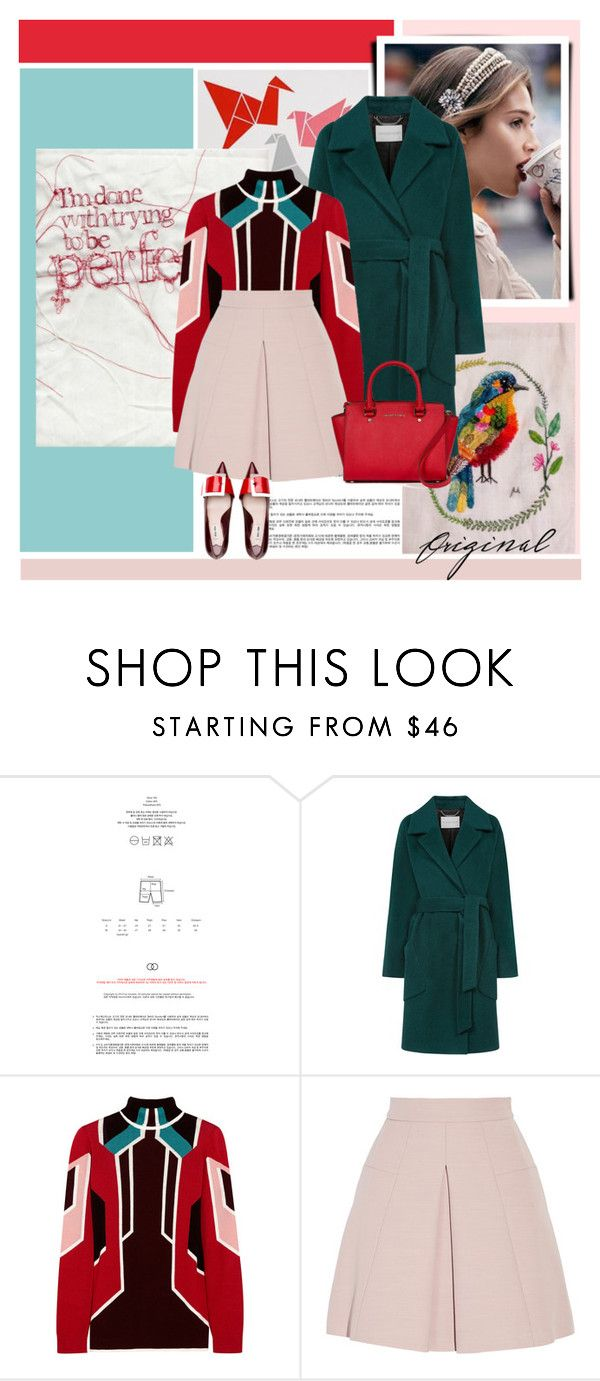 """""""Sin título #2230"""" by liliblue ❤ liked on Polyvore featuring Windsmoor, Peter Pilotto and Alexander McQueen"""