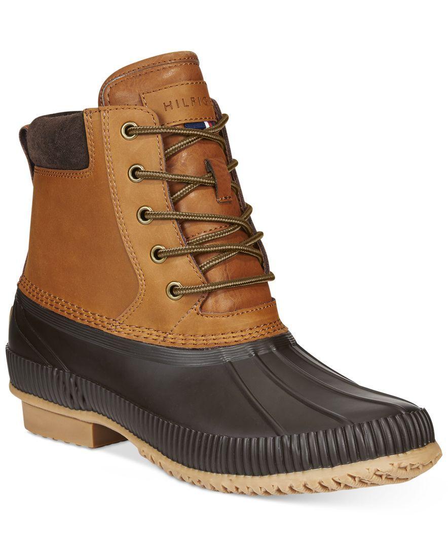 Men's Tommy Hilfiger Charlie Duck Boots - Boots - Men - Macy's