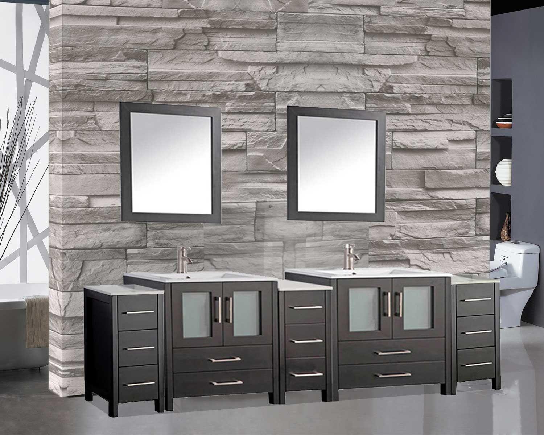 Argentina 108 Double Sink Bathroom Vanity Set Vanity Set Bathroom Vanity Vanity