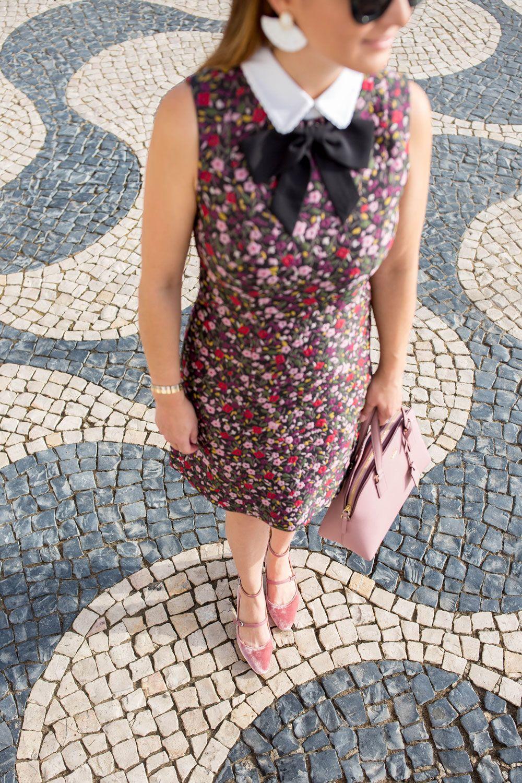 78a6f634e972 Kate Spade Boho Floral Jacquard Dress in Portugal