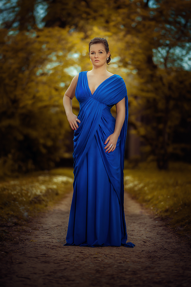 Wonder Woman Blue Dress Cosplay Gal Gadot Arwenia